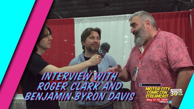 Interview with Benjamin Byron Davis and Roger Clark
