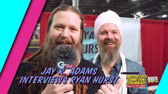 Jay R. Adams Interviews Ryan Hurst at Motor City Comic Con 2019