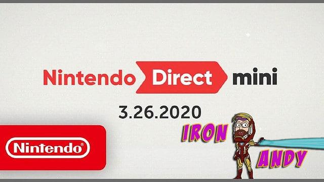 Ash and Andy Nintendo Direct Mini